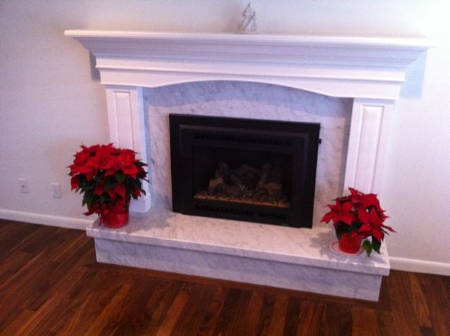 The Granite Gurus Carrara Marble Fireplace By Mgs By Design