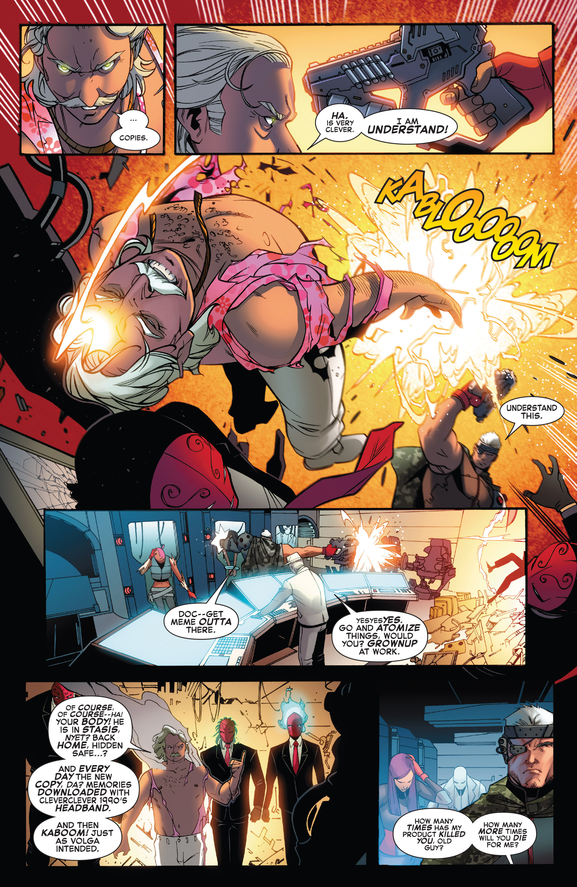 Read online X-Force (2014) comic -  Issue #6 - 12