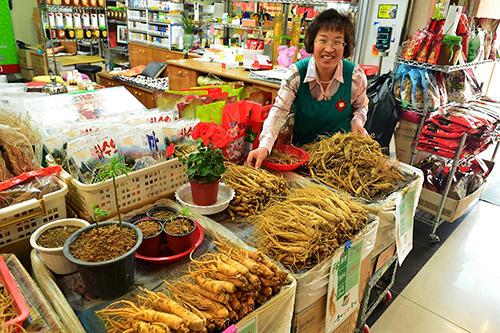 Nhân Sâm món quà quý nên mua khi tới Hàn Quốc