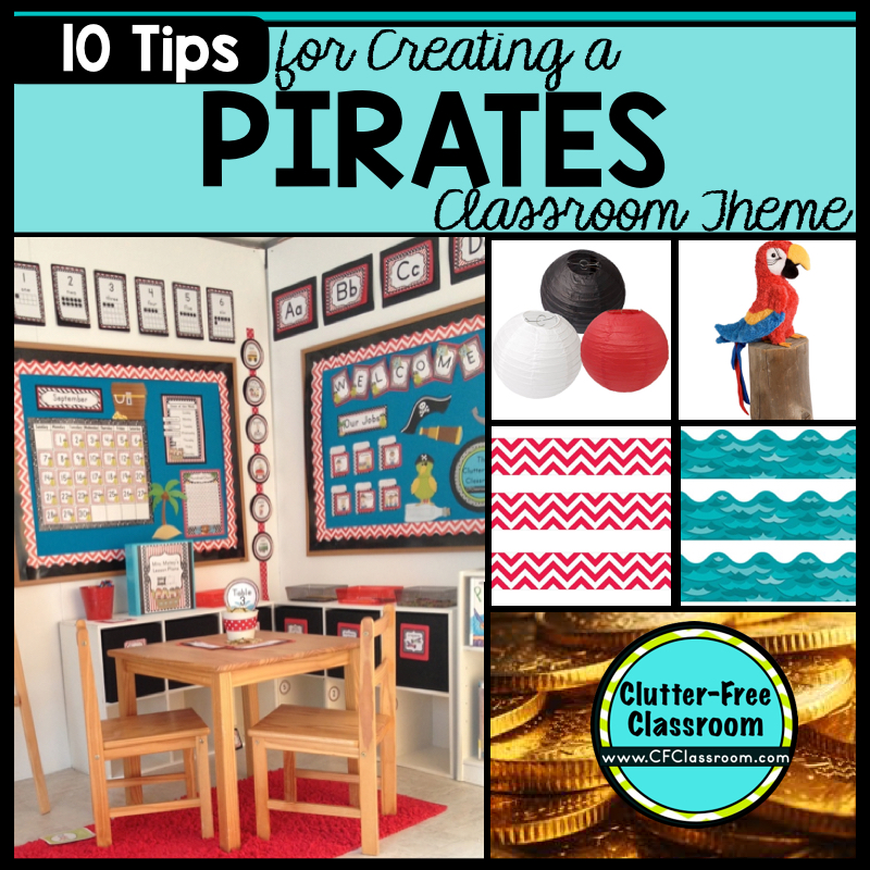Pirate Themed Decorating Ideas Part - 28: Are You Planning A Pirate Themed Classroom Or Thematic Unit? This Blog Post  Provides Great