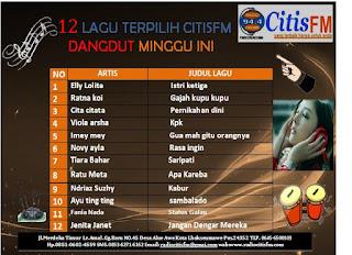 CITISFM-DANGDUT TERPILIH