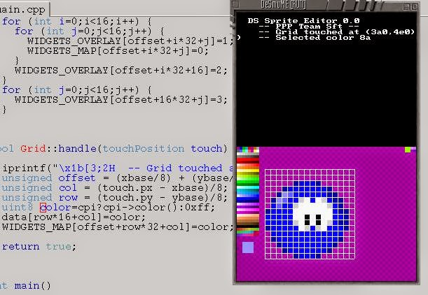 Bilou HomeBrew's Blog: DS SPrite Editor 0 0