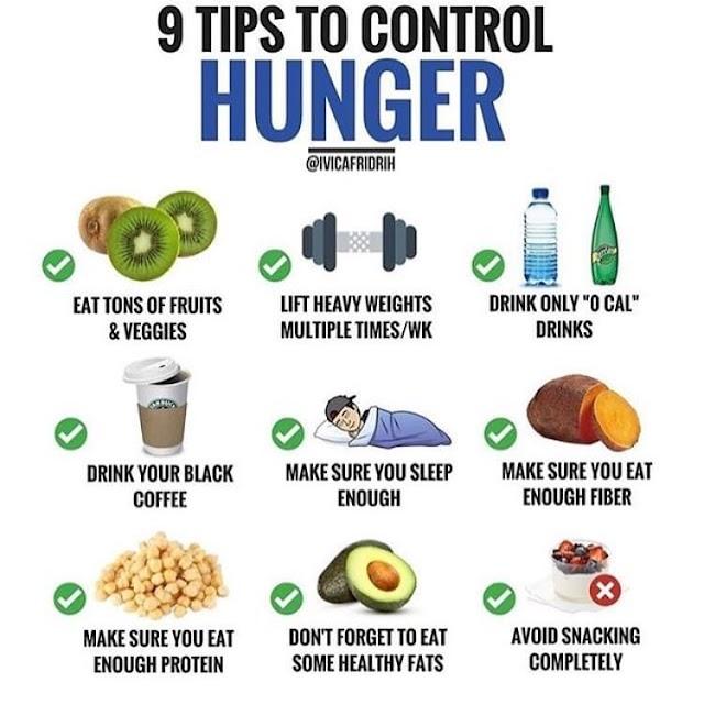 9 Cara Untuk Control Lapar