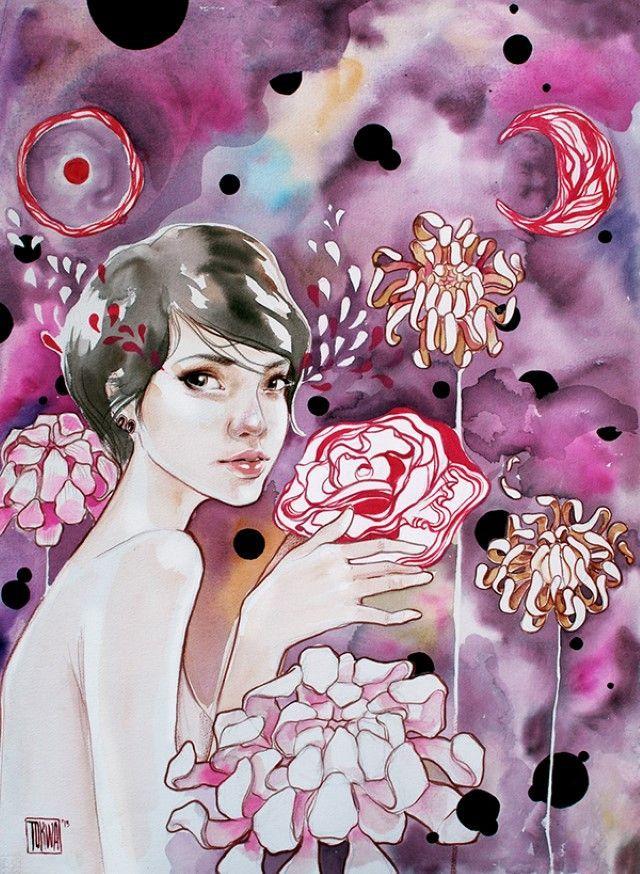 Филиппинский художник и иллюстратор. Tokwa Penaflorida