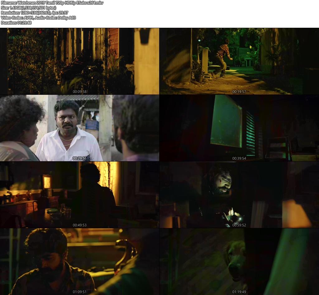 Watchman 2019 Tamil 720p HDRip ESubs x264 | 480p | 300MB | 100MB HEVC Screenshot