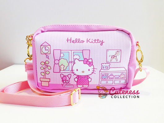 HELLO KITTY CHILDREN SLING BAG - CODE : HKCSB 03