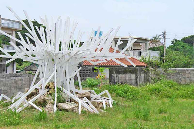 art, wooden,field, Miyagi Island, Okinawa