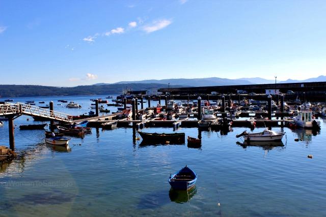 foto del puerto de fisterra
