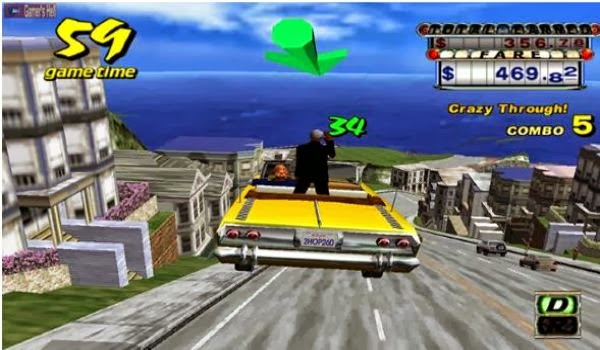 Crazy Taxi For PC Download Full Version Highly Compressed Free