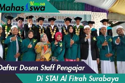 Daftar Nama Dosen Staff Pengajar Di STAI Al Fithrah Surabaya