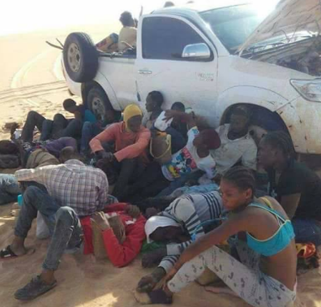 Facebook user narrates the dangers of going to Europe by road through Libya as he shares graphic photos