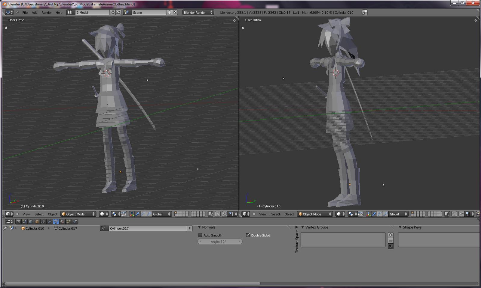 Samer Khatib's Dev Blog (SnowConeSolid): Early 3D Modeling