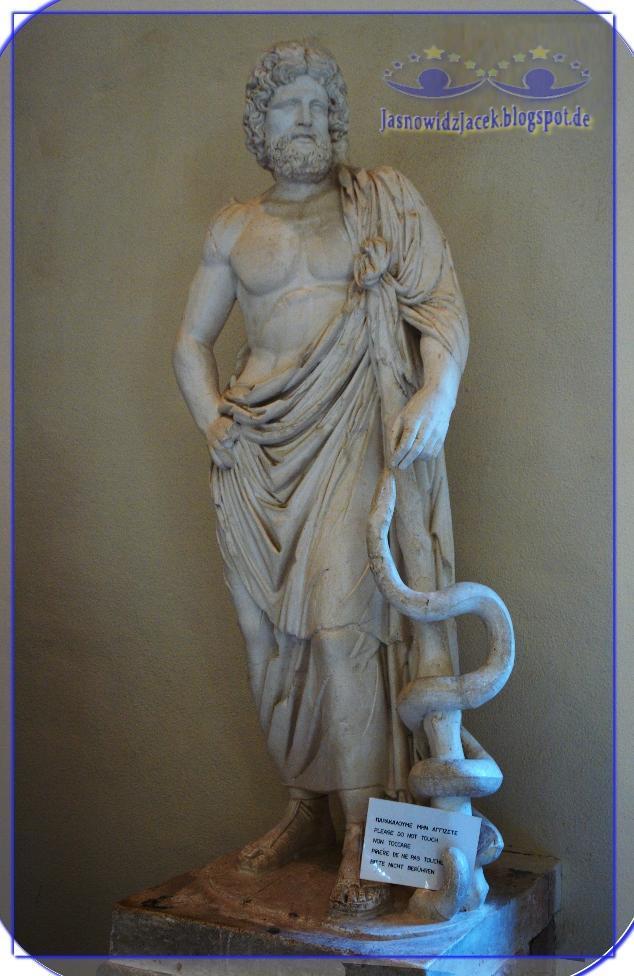 Asklepios Grecki Bóg