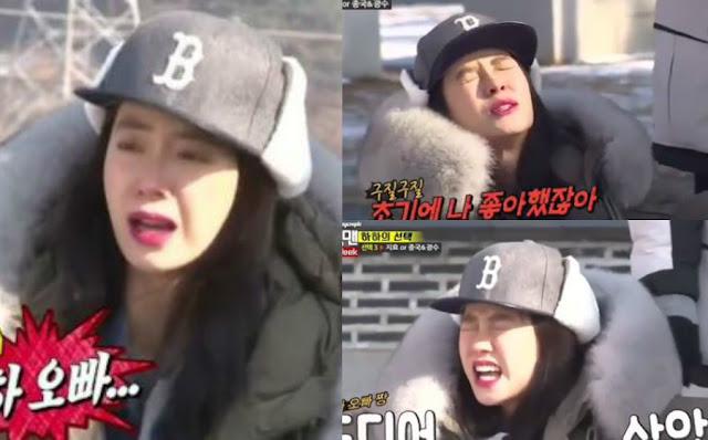 Paksa Song Ji Hyo Sentuh Serangga, Running Man Dikritik