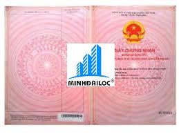 Sổ Hồng chung cư mini tách riêng từng căn của bên Chủ Đầu Tư Minh Đại Lộc