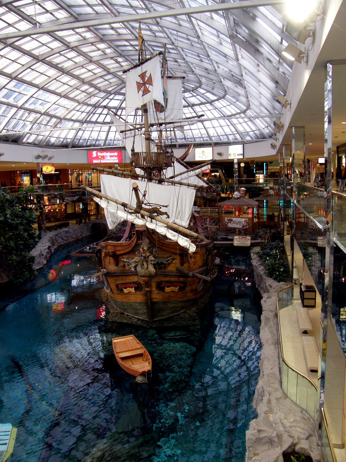 Edmonton: Sibu Pegasus Power: My Town Monday: West Edmonton Mall