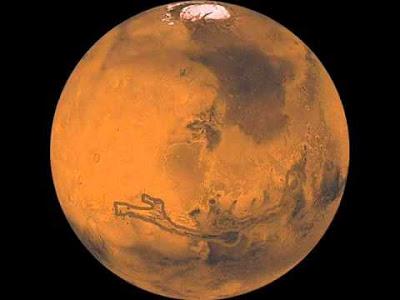 الاكتشاف الذي أذهل العالم: إسم النبي محمد عـلـى كـوكـب المـرّيـخ بالصور من وكالة ناسا
