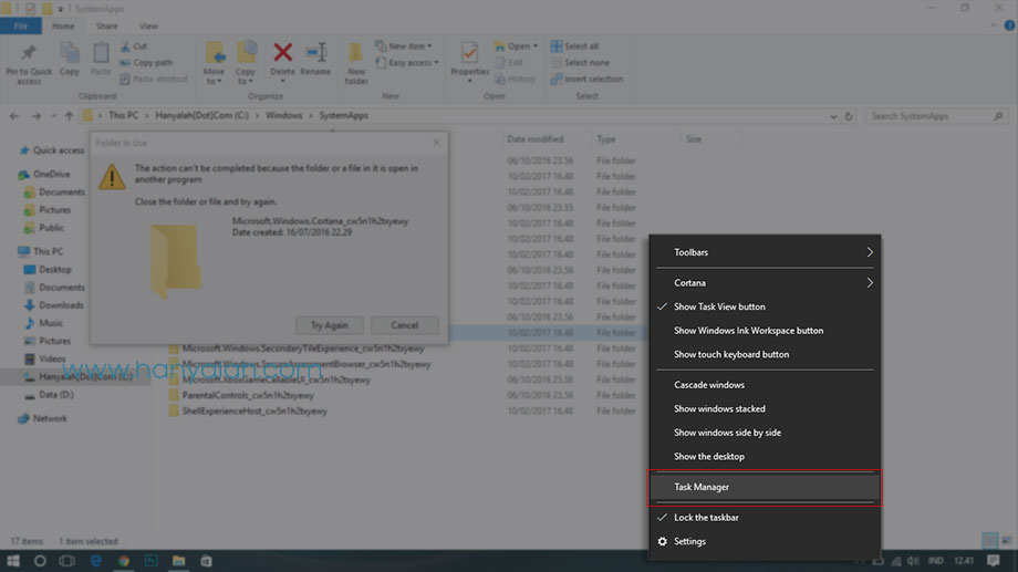 Cara Mematikan (Disabled) Fitur Pencarian Cortana di Windows 10
