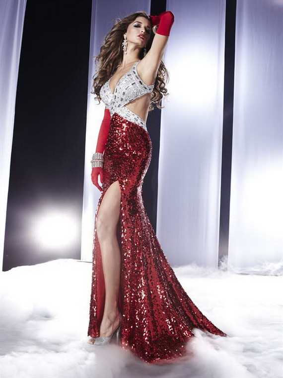 Funny Pictures Prom Dresses 2012 Collection