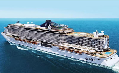 Artists Rendition of MSC Cruises New MSC Seaview Introduction Delayed One Week