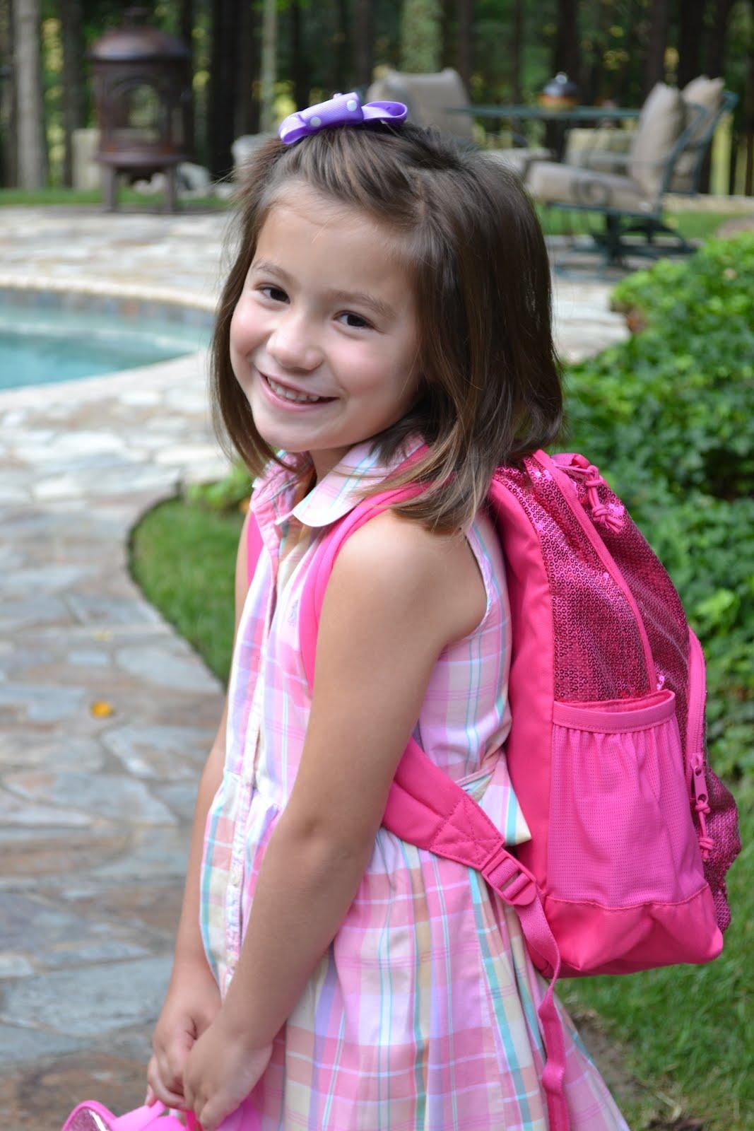 Kinder Garden: Mollieperez: Caroline's First Day Of Kindergarten