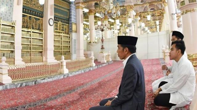 Presiden RI Ziarah ke Makam Nabi Muhammad, Sayidina Umar dan Sayidina Abu Bakar