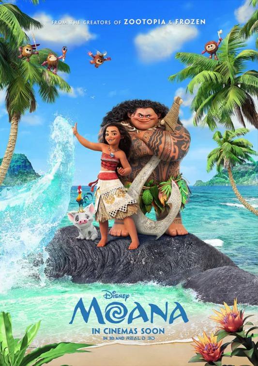 Moana (Dual Audio) 2016 with English Subtitle   free
