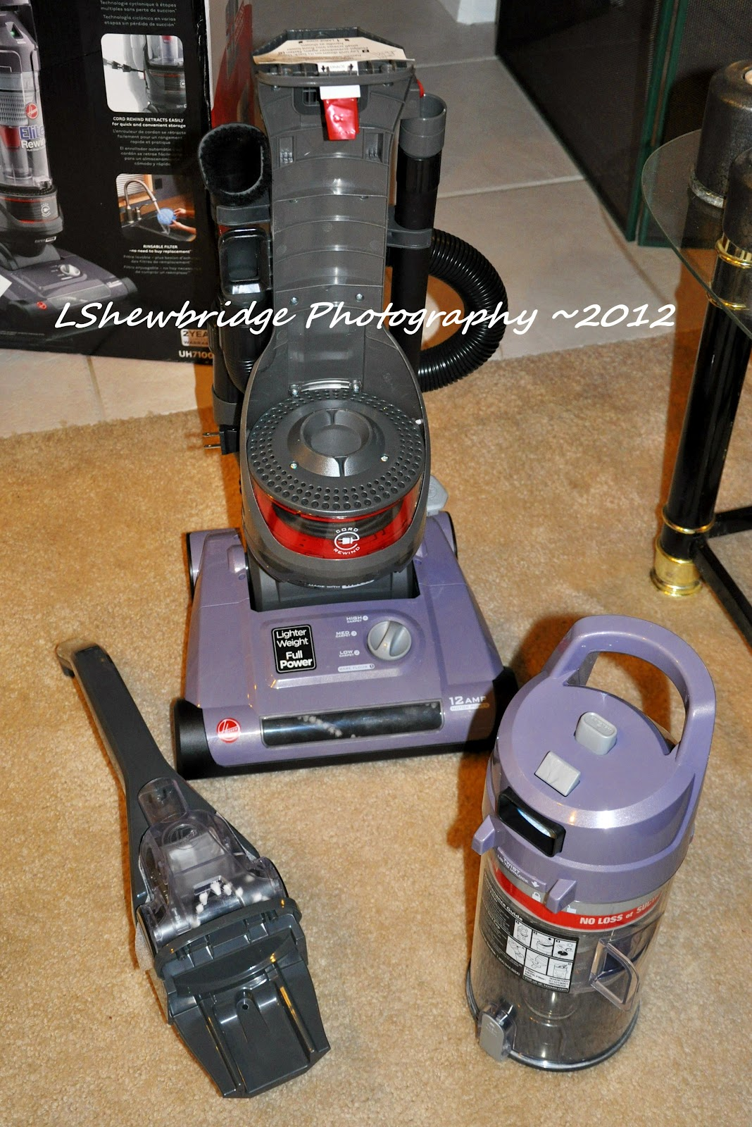 Hooverclean Elite Rewind Vacuum Review The Shewbridges