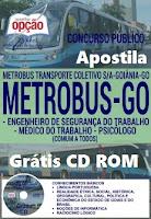 Apostila conconcurso Metrobus GOiania 2016 - Assistente Administrativo
