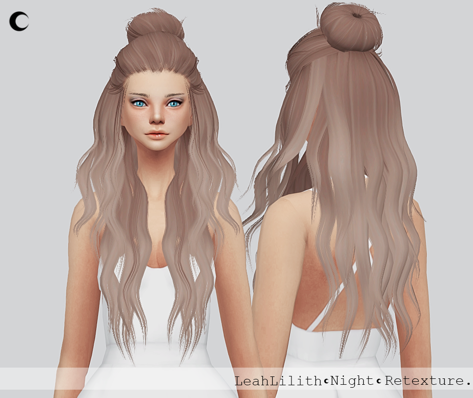 Sims 4 Hairstyles: My Sims 4 Blog: Night Hair Retexture For Females By KalewaA