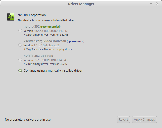 Provident Engineering: How to install NVIDIA driver 352 63 in Linux