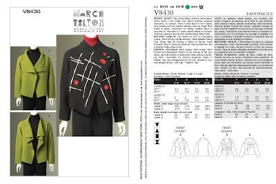 Creates Sew Slow: Vogue 8430 MT Jacket