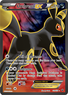 Umbreon EX Fates Collide Pokemon Card