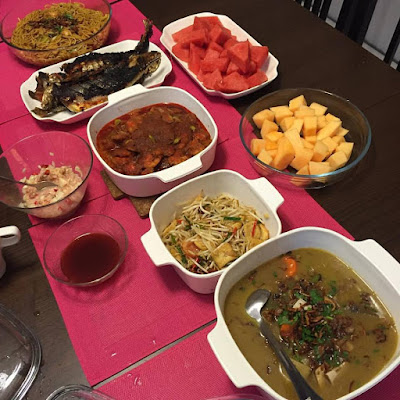 Juadah berbuka puasa, menu berbuka puasa, resepi berbuka puasa, resepi untuk bersahur, resepi mudah ketika sahur, blog resepi,