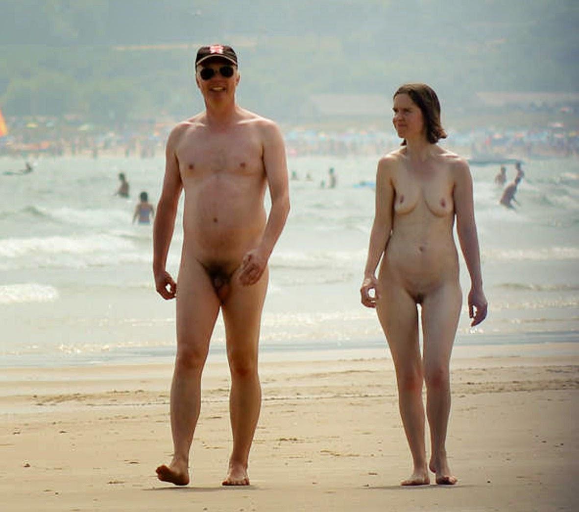 Nudist beach studland
