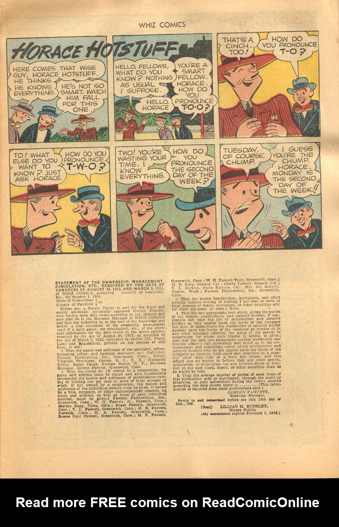 WHIZ Comics issue 69 - Page 11