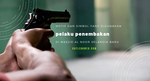 Motif dan simbol yang digunakan pelaku penembakan di Masjid al-noor selandia baru