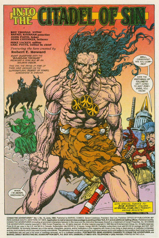 Read online Conan the Adventurer comic -  Issue #13 - 4