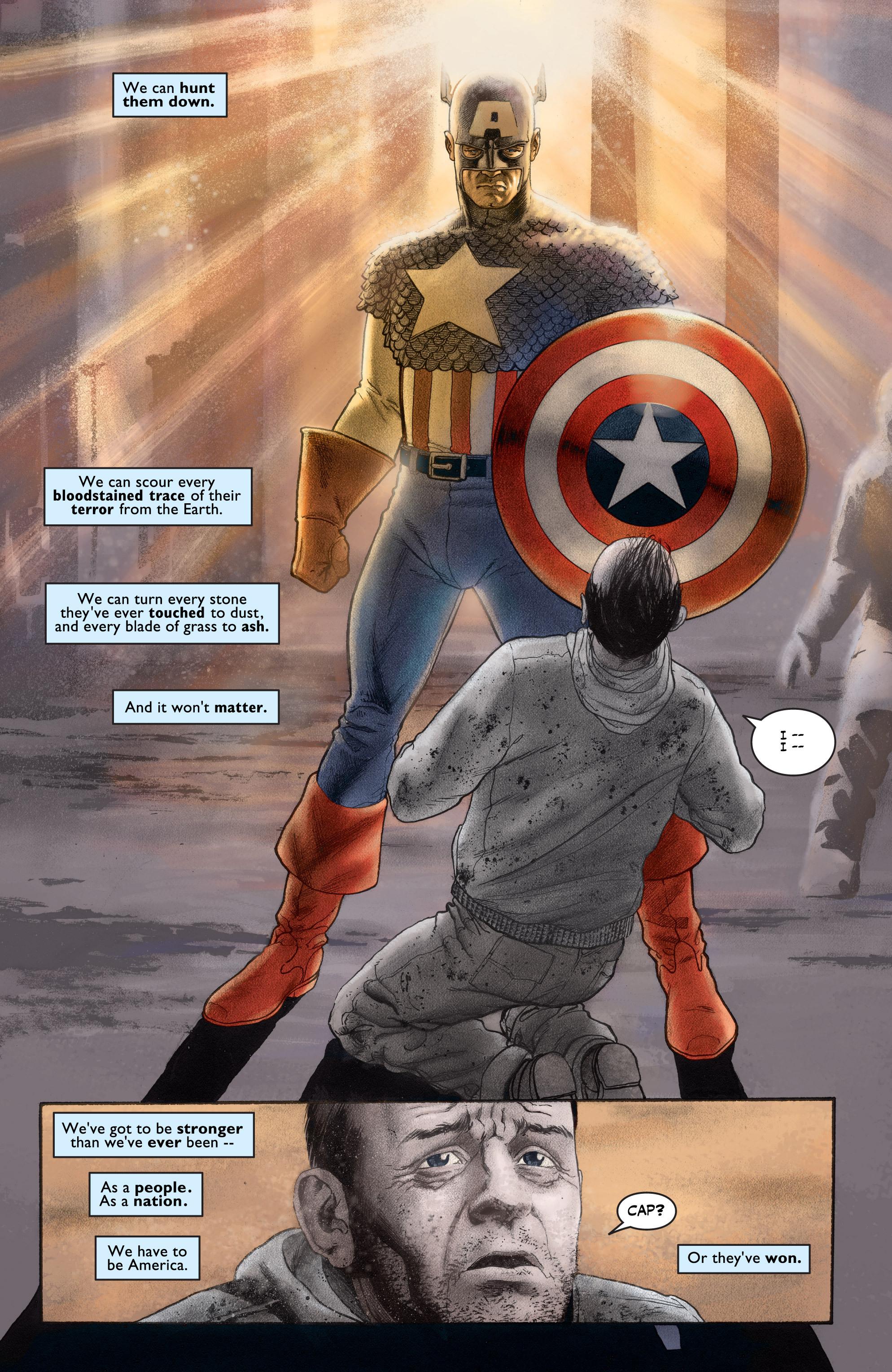 Captain America (2002) Issue #1 #2 - English 21