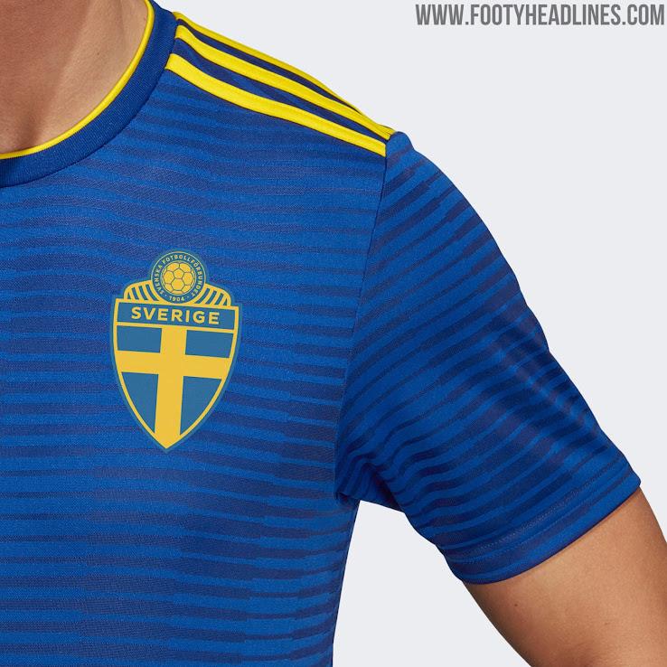4c8280a93de Sweden 2018 World Cup Away Kit Released - Footy Headlines