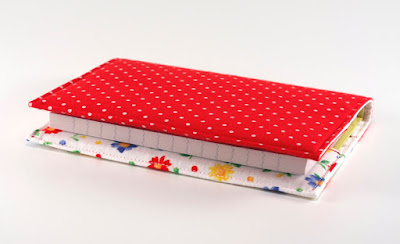 Floral Fabric Journal