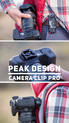 Gear of The Week #GOTW KW 12 | Peak Design Camera Clip Pro | Kamerahalterung mit quick-release Funktion für DSLR und DSLM Kameras