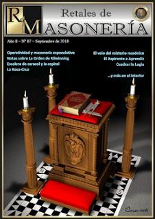 Retales de Masonería 87 – Septiembre 2018
