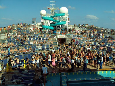 Carnival Destiny Pool Deck