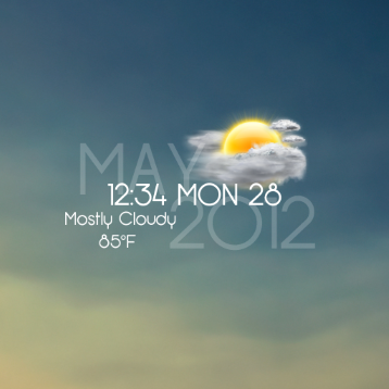 rainmeter weather plugin