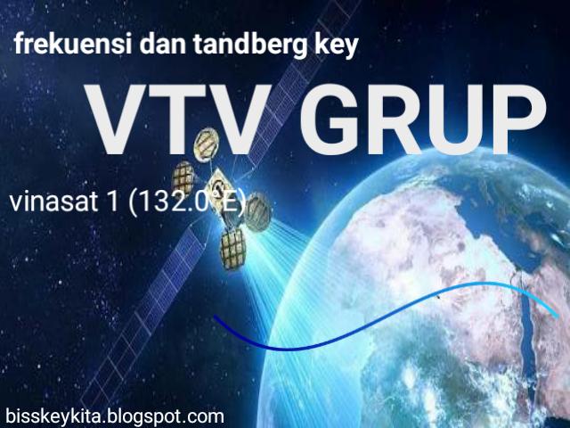 Frekuensi dan Tandberg Key VTV Grup di Vinasat 1 (132.0°E)