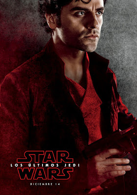 Star Wars: The Last Jedi International Teaser Character Movie Poster Set