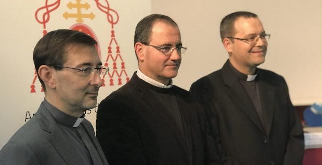 los tres nuevos obispos