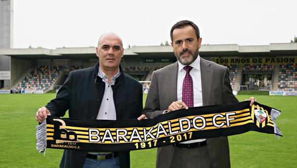 Fútbol | El Barakaldo tiene nuevo patrocinador principal en la camiseta de su primer equipo