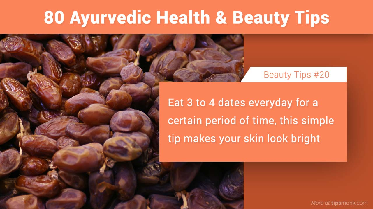 Ayurvedic beauty tips for skin glow naturally image - Tipsmonk